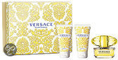 Versace Yellow Diamond Giftset  - 50,0 ml - Eau de toilette, - 50,0 ml -  Shower gel  ,- 50 ml -  Body lotion