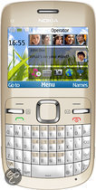 Nokia C3 - Goud - Vodafone prepaid telefoon