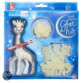 Sophie de Giraf bedset met lichtgevende vormen kaart (Sophie de Giraf met blauwe vlekken +