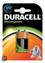 Duracell Rechargeable - 9V