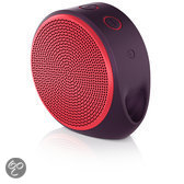 Logitech X100 - Bluetooth-speaker - Red