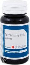 Bonusan Vitamine D3 25 mcg - 90 Capsules - Vitaminen