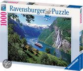 Ravensburger Noorse Fjord - Puzzel - 1000 stukjes