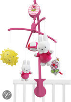 Nijntje Flower Muziekmobiel - Roze
