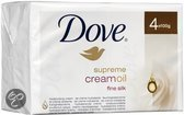 Dove Beauty Cream Bar Cream Oil - 4 stuks - Zeep