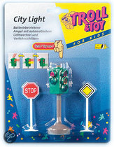 Toy Fun Stoplicht met Verkeersborden
