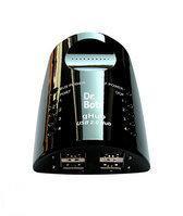 Dr. Bott gHub 2.0 Zwart, 4-Port USB2 Hub, 230 V Euro
