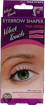 Velvet Touch Eyebrow Shaper - 18 Stuks - Wax Strips