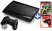 Sony PlayStation 3 12GB Super Slim + God Of War - Essentials Edition + Uncharted - Essentials Edition