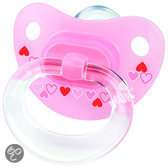 NUK Classic - Orthodontische Fopspeen Happy Days S3 - Roze