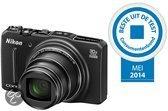 Nikon COOLPIX S9700 - Zwart