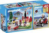 Playmobil Jubileum Compact Set Brandweerinterventie met quad - 5169