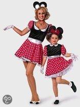 Minnie Mouse meisjes jurkje 164