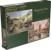 Falcon Shopping Days 2in1 - Legpuzzel