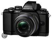 Olympus OM-D E-M10 + 14-42mm - Systeemcamera - Zwart