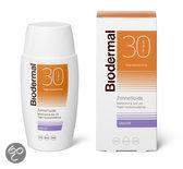 Biodermal Matterende Zonnefluide  SPF 30 - 50 ml - Zonnebrandcrème