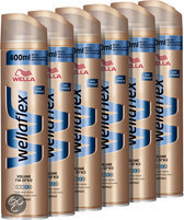 Wella Flex  2nd Day Volume Boost Extra Strong Hold 6x400ml  Hairspray