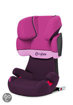 Cybex Solution X-Fix - Autostoel - Purple Rain - purple