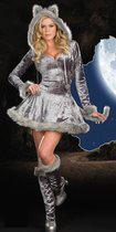 Sexy wolf kostuum voor dames 38 (m)