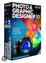 Magix Photo & Graphic Designer 10 - Nederlands/ 1 Gebruiker/ DVD