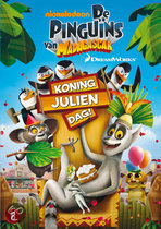 De Pinguns Van Madagascar - Koning Julien Dag!