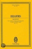 Brahms: Quintet: For 2 Violins, 2 Violas and Violoncello