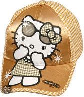 Sanrio Hello kitty cap gold 52/54