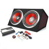 Skytec Home entertainment - Speakers Max-5050 Auto Subwoofer autoset 2x 12