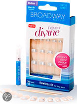 Broadway Fast French Divine Devine - 24 stuks - Nepnagels