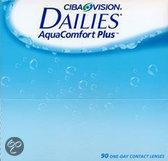 Dailies Aqua Comfort Plus Dag -2.5 - 90 st - Contactlenzen