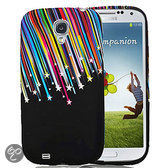 Movizy siliconen cover Samsung Galaxy S4 - Vallende sterren
