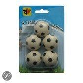 Tafelvoetbal ballen 5x