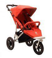Easywalker Sky Plus - Complete kinderwagen met reiswieg- Berry Red
