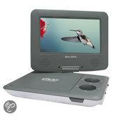 Salora DVP7009SW - Portable DVD-speler met USB-poort - 7 inch