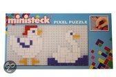 Ministeck Kip en eend mini pixel puzzle