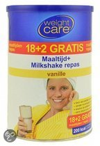 Weight Care Vanille - Maaltijdshake