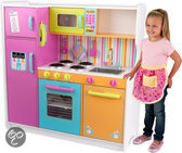 KidKraft Luxe Houten Keukentje in Felle Kleuren