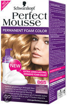 Perfect Mousse 865 Amber Goudblond - Haarkleuring
