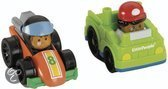 Fisher-Price Wheelies little people 2-pack raceauto