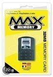 Max Memory Card - 16 MB & 10 Retro Games