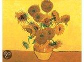 Schilderen op nummer zonnebloemen