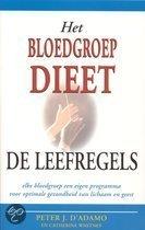 Het bloedgroepdieet / De leefregels Peter J. D'Adamo