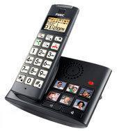 Fysic FX-5209 - Single DECT senioren telefoon - Zwart