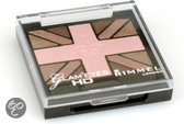 Rimmel Glam'Eyes HD Union Jack Eyeshadow - 5 English Rose - Oogschaduw
