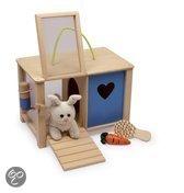 Base Toys Houten Konijnenhok
