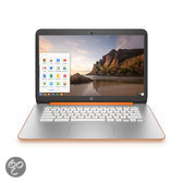 HP 14-x003nd - Chromebook - Oranje