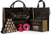 Sleep In Rollers Haarkrullers & rollers Sleep In Rollers Black &amp: Gold Glitter Gift Set