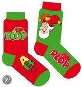 Studio 100 Kabouter plop sokken 2-pack rood groen maat 19/22