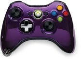 Microsoft Xbox 360 Draadloze Controller Chroom Paars - Limited Edition