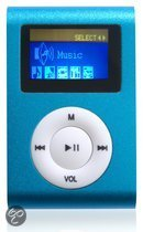 Difrnce MP855 - MP3 speler - 4 GB - Blauw